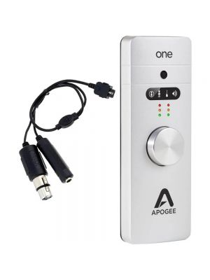 Apogee One 2-In x 2-Out USB Audio Interface with Breakout Cable Bundle