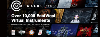 Over 40000 Virtual Instruments with Eastwest Composer Cloud