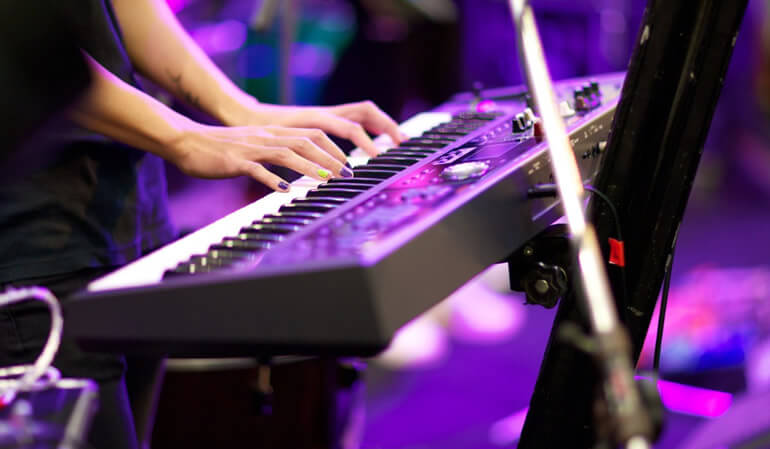 Portable Keyboards, Digital Pianos and Synthesizers on sale